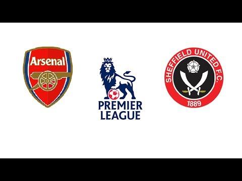 Арсенал Шеффилд Юнайтед 1 - 1 обзор матча 18.01.2020 голы  Arsenal Sheffield United 1 - 1