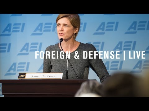 UN Ambassador Samantha Power: Reforming peacekeeping in a time of conflict | LIVE STREAM