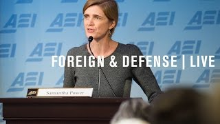 Video UN Ambassador Samantha Power: Reforming peacekeeping in a time of conflict | LIVE STREAM download MP3, 3GP, MP4, WEBM, AVI, FLV Juli 2018