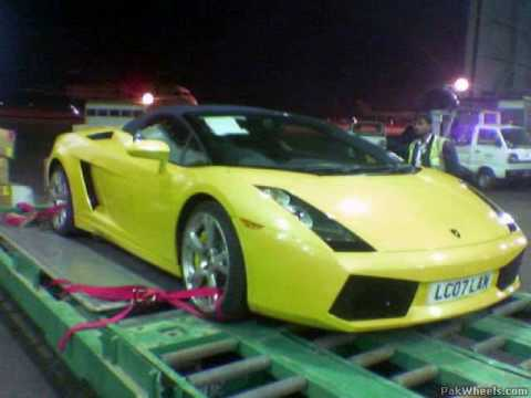 The First Lamborghini Gallardo In Pakistan Youtube