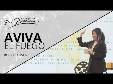 📺 Aviva el fuego - Rocío Corson - 30 Septiembre 2018   Prédicas Cristianas 2018