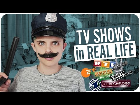 TV SHOWS in REAL LIFE!