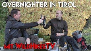 Overnighter in Tirol - Unterwegs mit WildHikesTV