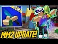 BRAND NEW ROBLOX MM2 UPDATE! *NEW EMOTES*