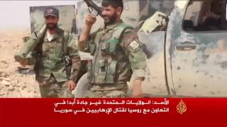 الأسد سئل عن كل شيء ونفى كل شيء