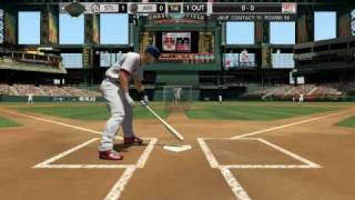 MLB 2k10 PC gameplay Cardinals vs Diamondbacks