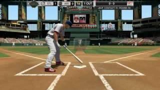 MLB 2k10 PC gameplay Cardinals vs Diamondbacks