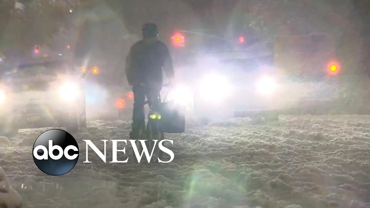 November noreaster drops 6 inches of snow, ice on New York City
