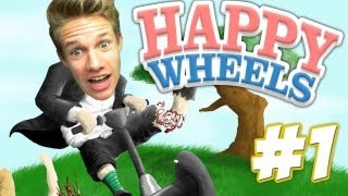 UHH, WAR DAS KNAPP! | Happy Wheels