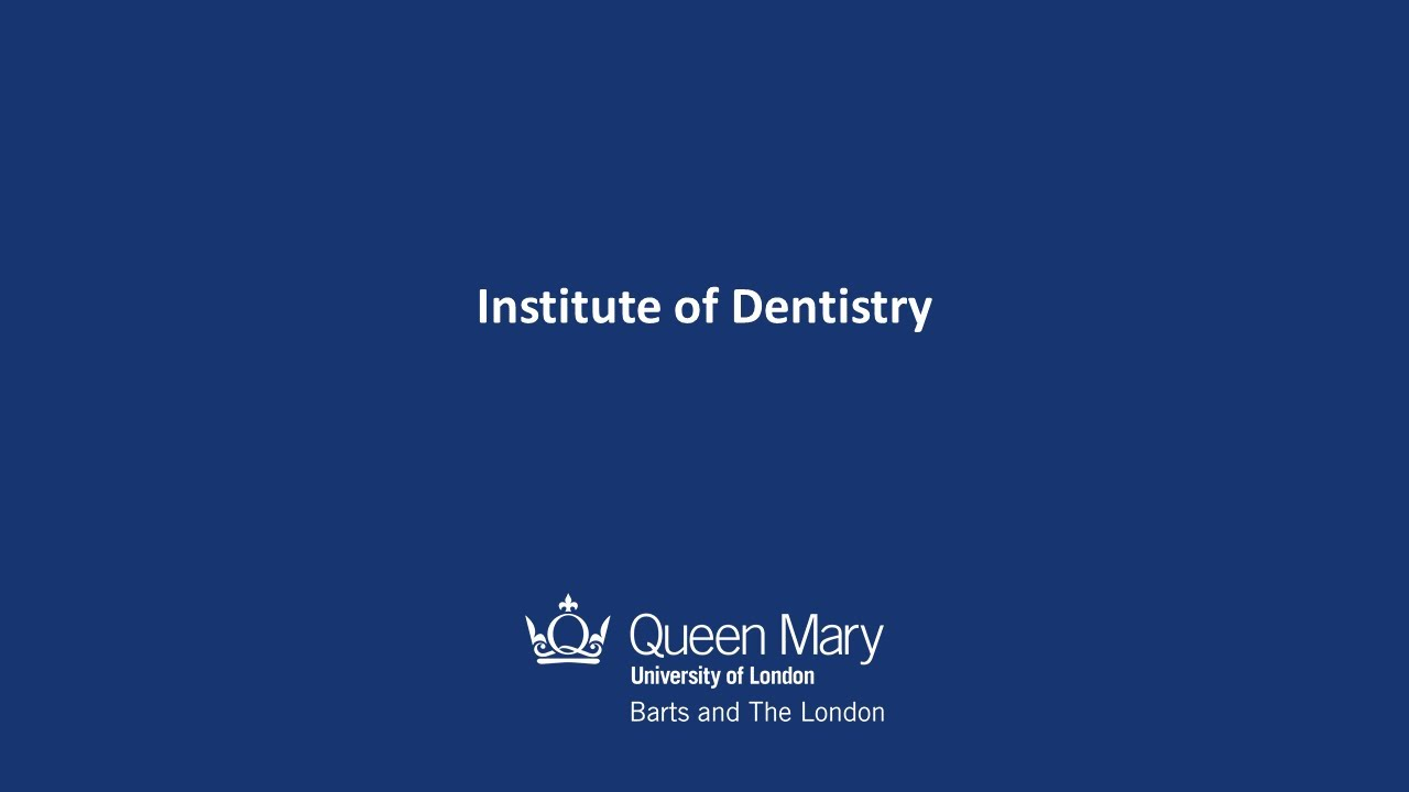 Barkantine - Institute of Dentistry - Barts and The London