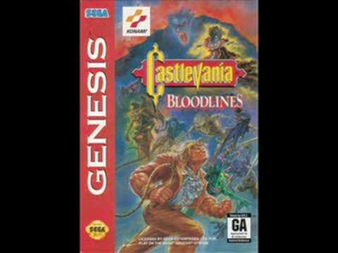 Castlevania Bloodlines Music - Reincarnated Soul (Stage 1)