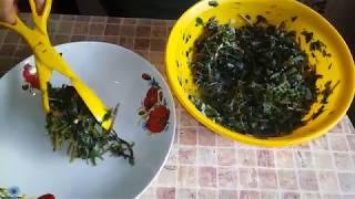Лёгкий витаминный салат из портулака огородного !