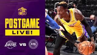 Disaster! Lakers Break Down Against Pistons