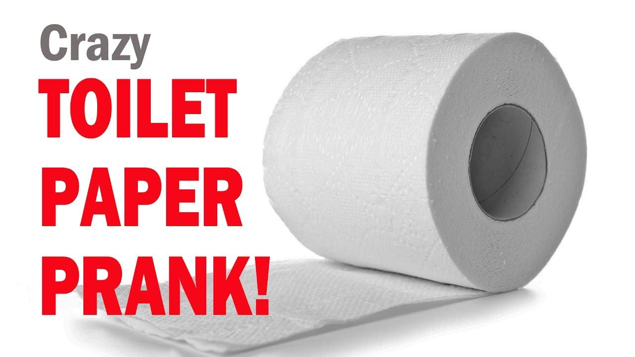 Crazy TOILET PAPER PRANK! - YouTube