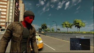 The Amazing Spider-Man 2 - Vigilante Costume Free Roam Gameplay [HD]