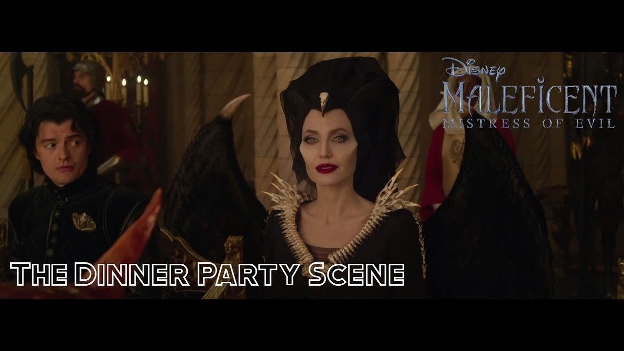Download The Dinner Party Scene - Maleficent: Mistress of Evil - HD