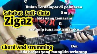 Chord Mudah  (Sahabat Jadi Cinta - Zigaz) By Darmawan Gitar ( Tutorial Gitar ) Untuk Pemula
