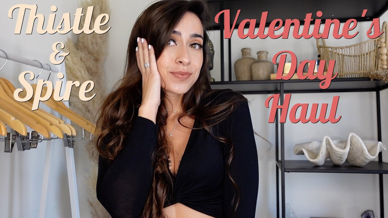 Valentine's Day Lingerie Try on Haul - Thistle & Spire