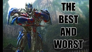 THE BEST AND WORST OF TRANSFORMERS