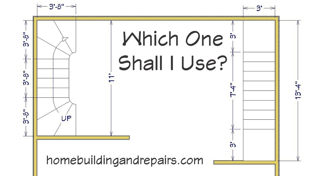 small resolution of winder stairway comparisons for building and floor plan layout ideas
