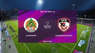 PES 2020   Alanyaspor vs Gaziantep - Super Lig   14/03/2020   1080p 60FPS