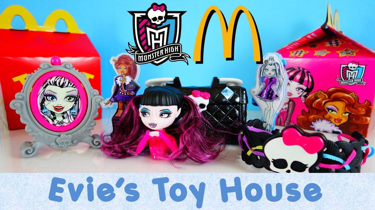 2015 Monster High Dolls McDonalds Happy Meal Toys - COMPLETE SET ...