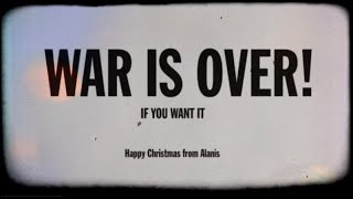 Alanis Morissette - Happy Xmas (War Is Over) YouTube Videos