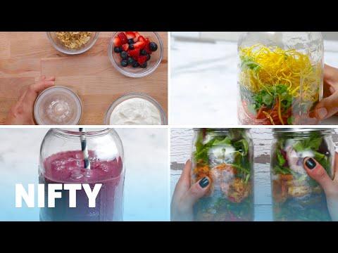 8 Meal Prep Mason Jar Hacks
