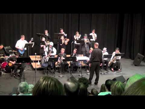 Poplar Bluff Studio Jazz Band Playing Perdido