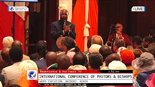 PROPHET DR OWUOR IN NAIROBI 8 July 2018 - Word Explosion Conference