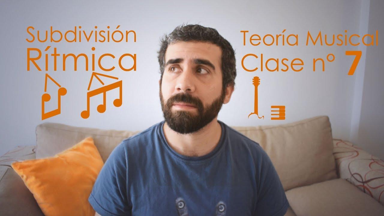 Subdivisión rítmica | Teoría Musical, Clase 7