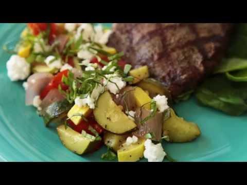 How to Make Grilled Lemon Pepper Zucchini | Zucchini Recipes | Allrecipes.com