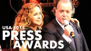 DANIELA MERCURY faz TONY RAMOS cantar nos ESTADOS UNIDOS - Press Awards 2015