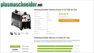 Erfahrungen: Plasmaschneider Stamos S Cutter 50 im Test