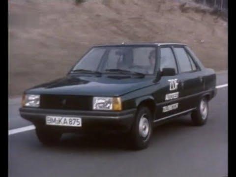 Autotest 1982 Renault 9 Gtl Youtube