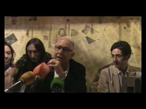 Presentación del libro MIRADOR DE VELINTONIA, de Fernando Delgado en restaurante Saporem de Madrid
