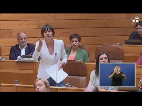 """Ana Pontón a Feixóo: """"Mentres vostede pasa das políticas de vivenda, o alugueiro non para de medrar"""""""