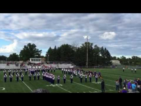 Fowlerville High School Marching Band 9/1/16