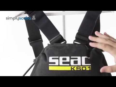 SEAC SUB KS01 Sidemount Vest - www.simplyscuba.com