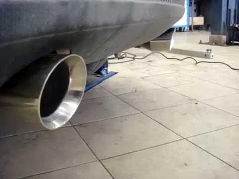 Двойной выхлоп Форд Фокус 3