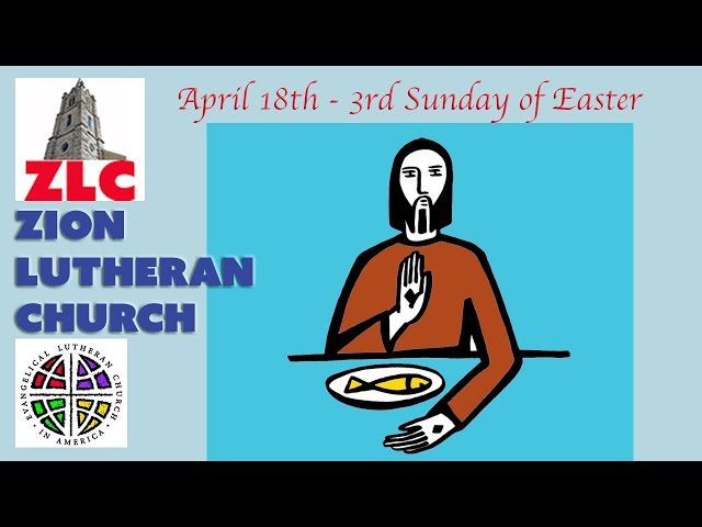 Service - 20210418 - The Third Sunday after Easter