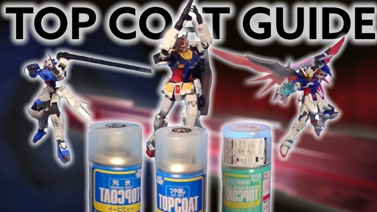 [CC.]Tip 7:มือใหม่มาพ่นเคลียร์ให้กันพลากันครับ/Gunpla Top coating for Beginner