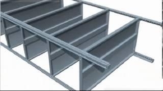 видео Виды металлических складских стеллажей