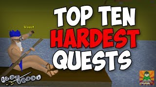 OSRS Top Ten Hardest Quests