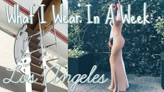What I Wear In A Week: Los Angeles | Hadassah Richardson