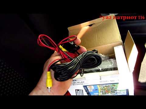 УАЗ Патриот 21 серия. Установка и краткий обзор магнитолы 2 Din с алиэкспресс