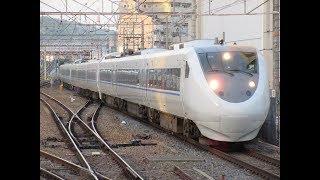 JR西日本 4034M サンダーバード34号 V11+V33+W01P 681系オール未更新車 高槻・塚本にて