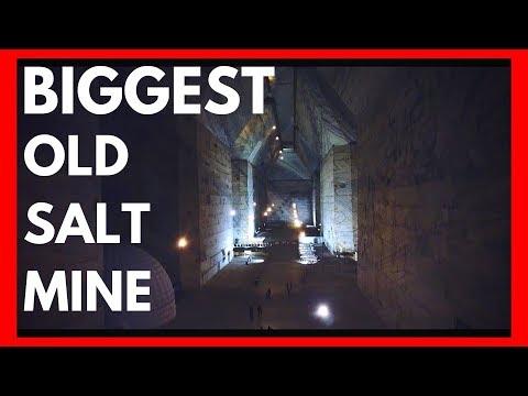 INSIDE SUPER STRUCTURE !!! Incredible Biggest Old Salt Mine In Europe - Salina Slanic Prahova 2019