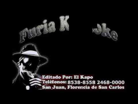 A COSTA RICA LA SONORA SANTANERA FURIA KARAOKE