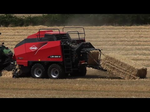 KUHN LSB 1290 iD - High density balers (In action)